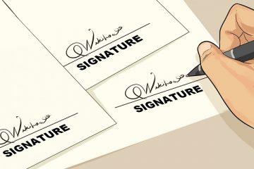 Come riconoscere una firma falsa