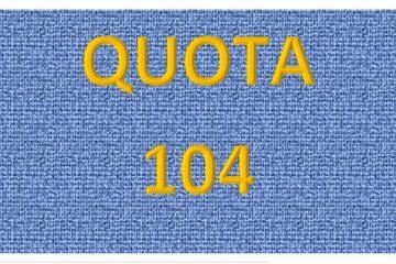Pensione quota 104