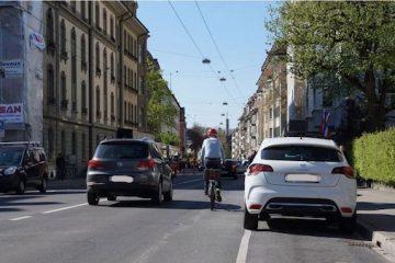 Sorpassare la bicicletta: distanza e regole