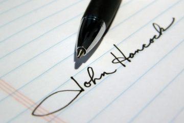 La firma deve essere leggibile?