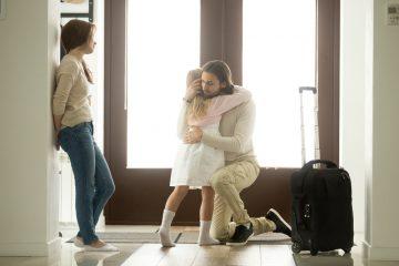 L'ex coniuge può trasferirsi con il figlio?