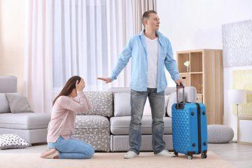 Andare via di casa per troppi litigi: quali conseguenze?