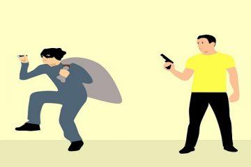 Come evitare i ladri senza sparare
