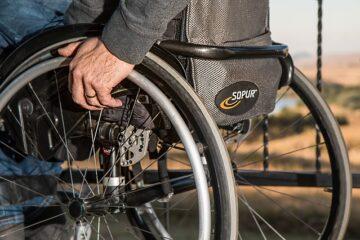 Larghezza minima passaggio disabili