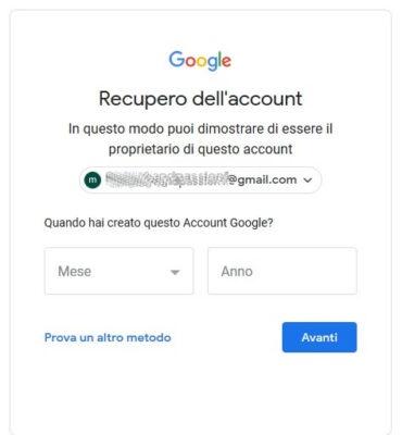 Data di reimpostazione della password di collegamento