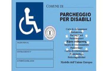 Modulo richiesta contrassegno invalidi