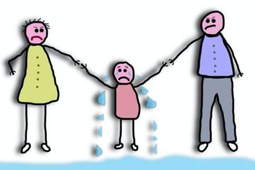 Disparità di trattamento tra madre e padre