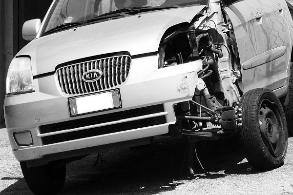Incidente con auto in car sharing