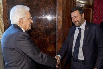 Consultazioni: ecco cosa ha detto Salvini a Mattarella