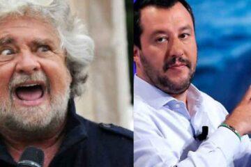 Grillo contro Salvini: il video con le accuse