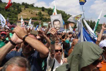 Pontida: cosa sta dicendo Salvini