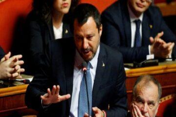 Fiducia al Senato: cosa ha detto Salvini