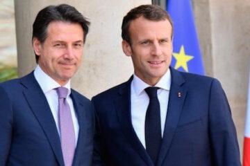 Conte e Macron: pace fatta