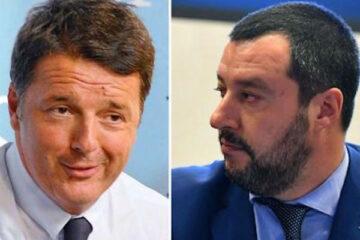 Renzi contro Salvini: «Sì al Mes, no alla patrimoniale»