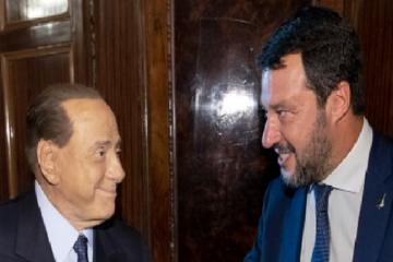 Centrodestra: vertice Salvini-Berlusconi