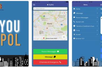 YouPol, l'app della Polizia di Stato per le segnalazioni da smartphone
