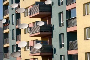 Distanze tra balconi in condominio