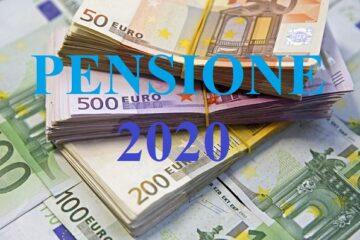 Aumento pensioni 2020