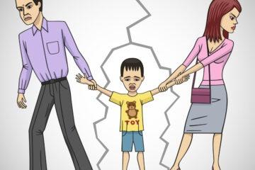 Genitori separati: stesso tempo insieme ai figli?