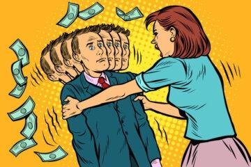 Assegno di divorzio, che succede se lei eredita e lui si risposa