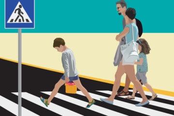 Regole per attraversare la strada