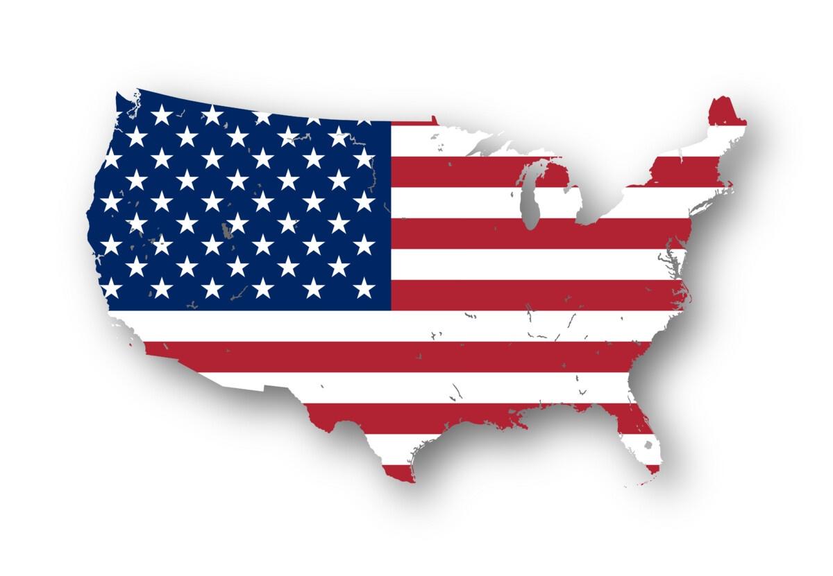 Cartina Geografica Degli Stati Uniti Di America.Come Avere La Cittadinanza Americana