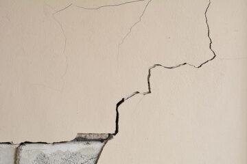 Crepe nei muri esterni: cosa fare?