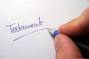 Testamento olografo in stampatello
