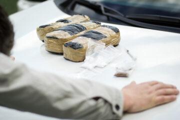 Passeggero in auto trasporta droga