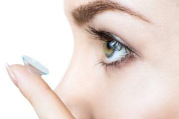 Coronavirus: attenzione alle lenti a contatto