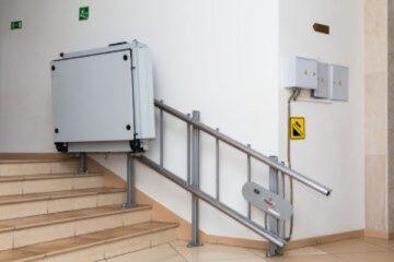 Pedana mobile per disabili in condominio