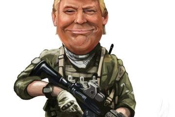 Trump lancia le forze armate spaziali