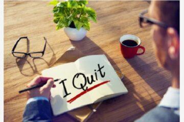 5 cose da fare prima di dimettersi