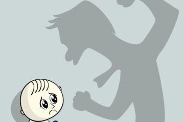 Genitore responsabile se l'altro picchia i figli?