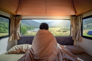 È legale dormire in un furgone?