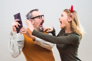 Cosa fare se il marito non dà soldi alla moglie