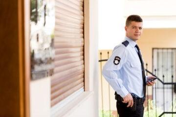 Una guardia giurata può perquisire?