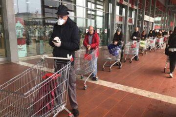 Coronavirus: bisogna provare la febbre al supermercato?