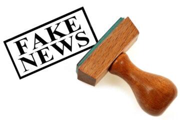Denuncia per notizie false