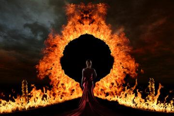 Augurare di bruciare tra le fiamme dell'inferno si può?