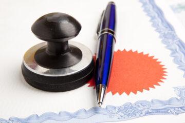 Scrittura privata autenticata con formula esecutiva