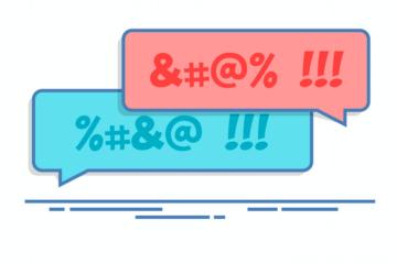 Quali parolacce si possono dire sui social