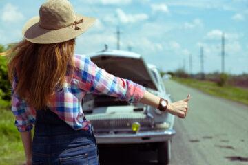 È vietato fare autostop?