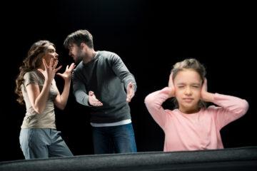 Liti genitori conseguenze figli