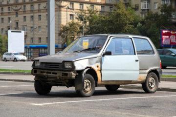 Auto abbandonata: posso prenderla?