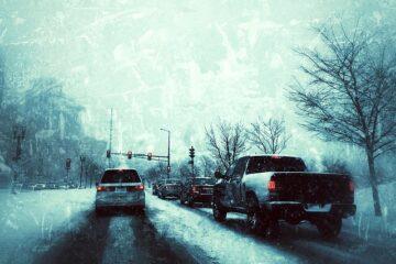 È vietato il sorpasso se nevica?
