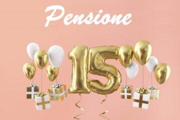 In pensione con 15 anni di contributi
