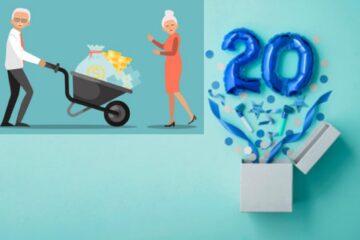 Pensione anticipata con 20 anni di contributi