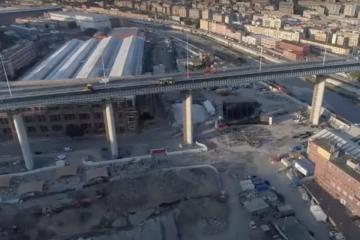 Genova pronta all'inaugurazione del nuovo ponte