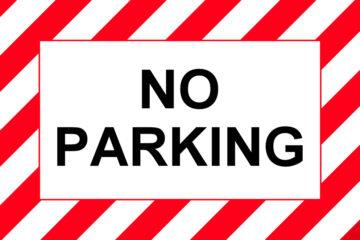 È vietato parcheggiare nelle zone residenziali?